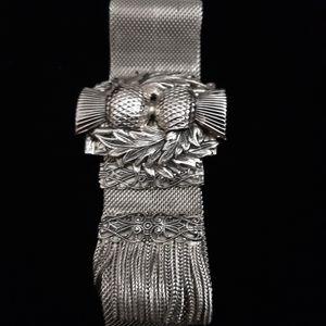 Jewelry - Antique Whiting & Davis Mesh Slide Bracelet